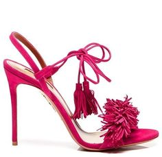 Wild Thing Suede Sandals in Pink. We simply can't get enough of this.