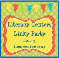 Literacy Center Linky     by Flying into First Grade