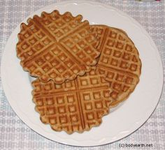 Really Good Waffles--best ever recipe for waffles using sprouted wheat flour!