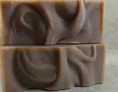 These looks waves, like whisps of wonder. Handmade soap is amazing!