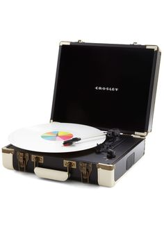 The Busk Stops Here Turntable, #ModCloth