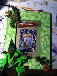 Welcome to the Jungle picture frame to be made in my class in october at the green door gallery