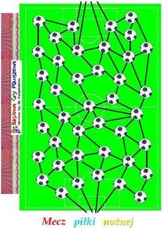 Mecz piłki nożnej - plansza