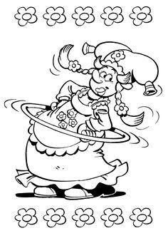 Plop The Gnome Fargelegging for barn. Tegninger for utskrift og fargelegging nº 19