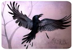 Recuerdos de Irlanda. #eire #cork #postales #cuervos #cartel #poster #illustration #darkart #lowbrowart #crown #plumas #alas #tattoo #acuarelas #painting #doodles #artwork #artbook #art #animallover #dark #gotico #culture #artegotico #nieve #irlanda #inspiracion #artist #natureart by elsapalmerart