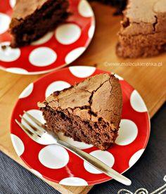 Ciasto czekoladowe bez mąki