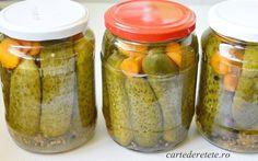 Vegan Recipes, Vegan Food, Pickles, Cucumber, Mason Jars, Cooking, Canning, Recipes, Romanian Recipes