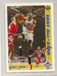 a3a6a3968e0 1991-92 Upper Deck East All-Star Michael Jordan Card  69. Chicago