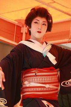 Ayame-san, Furumachi Geiko (Geisha), Niigata