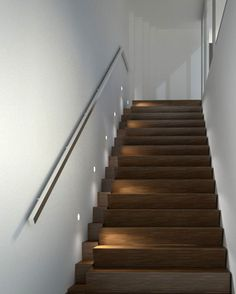 W3 - Stair Light: - Brightgreen W200 Curve - Warm white, excellent colour - Mounted above stair treads/landings to wash onto steps with minimal glare - About $110