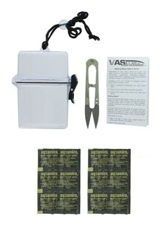 AQUAMIRA 10 PACK WATER PURFICATION TABLETS W VAS WATERPROOF CASE -- You can get more details by clicking on the image.