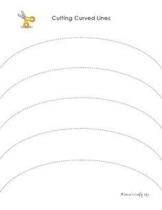 Preschool Activity Pages: Practice Using Scissors