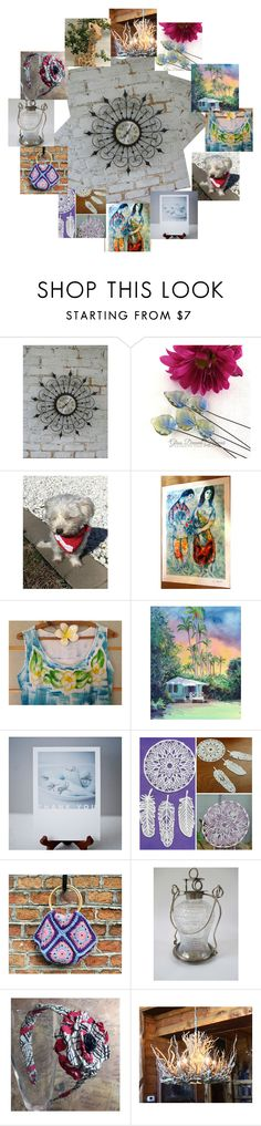 """""""My Talented Etsy Friends"""" by flower-of-paradise ❤ liked on Polyvore featuring Marc, rustic and vintage"""