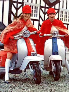 Lambretta and check out the outfits.