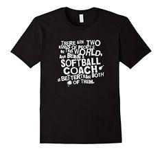 ce2464dcfa4 Men s Softball Coach T-shirt Funny Sports Coaching Gift F... https