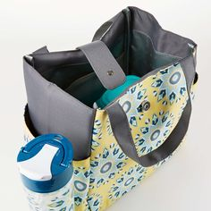 Westport Insulated Lunch Bag Set with Reusable Container Set and 20 oz                                 – Fit & Fresh
