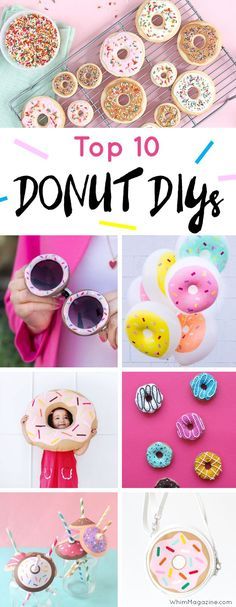 Top 10 Donut DIY Crafts and Projects on Whim Online Magazine
