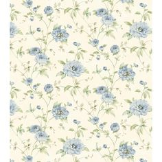 Brewster Home Fashions Cottage Garden Priscilla Peony x Floral Embossed Wallpaper Color: Blue Wallpaper Samples, Home Wallpaper, Wallpaper Roll, Pattern Wallpaper, Bathroom Wallpaper, Embossed Wallpaper, Textured Wallpaper, Wallpaper Warehouse, Purple Peonies