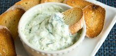 Spinach Artichoke Dip - made with a Magic Bullet!