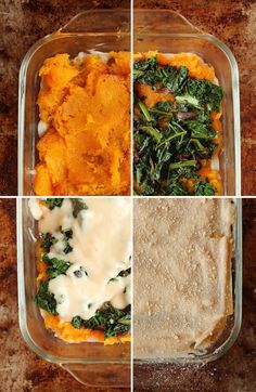 A fall-twist on a classic dish, this vegan butternut squash kale lasagna with bechamel sauce is the perfect dish for omnivores and vegans alike. Vegetarian Recipes Dairy Free, Amazing Vegetarian Recipes, Vegetarian Breakfast Recipes, Vegan Recipes, Vegetarian Types, Vegetarian Diets, Alkaline Recipes, Alkaline Diet, Vegetarian Options