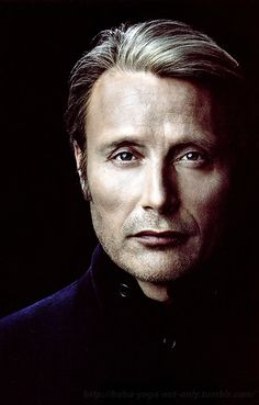 Frighteningly Beautiful - Mads Mikkelsen in Russian magazine 'OK!' Source: baba-yaga-not-only.tumblr