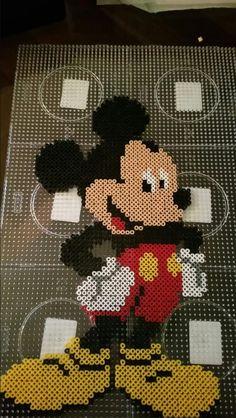 Mickey Mouse perler beads by Alexandre Lehmann