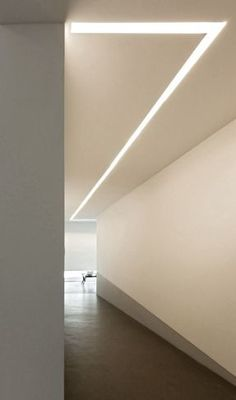 The Design Walker — Lighting 094 system Corridor Lighting, Cove Lighting, Linear Lighting, Interior Lighting, Modern Lighting, Lighting Design, Lighting System, Modern Ceiling Lights, Ceiling Lighting