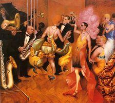 Otto Dix, Metropolis (Central Panel) on ArtStack #otto-dix #art