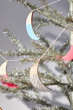 Christmas Tree On Table, Colorful Christmas Tree, Xmas Tree, Christmas Holidays, Christmas Decorations, Holiday Decorating, Merry Christmas, Tree Table, Table Lamp
