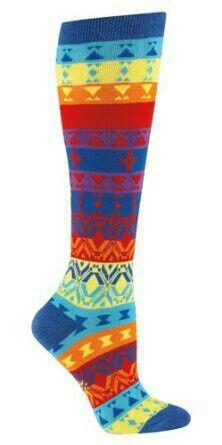 Sock It to Me Women's Knee High Funky Socks – Kaleidoscope for sale online Funky Socks, Crazy Socks, Cool Socks, Awesome Socks, Silly Socks, Colorful Socks, Awesome Stuff, Crochet Socks, Sock Animals