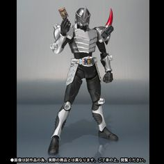 Kamen rider Gai from the Ryuki series (same one as that pink stingray guy). I love suit designs with a rhino aesthetic and this suit is probably my favourite steel rhino theme of all time. This series was unique as it introduced a monster tamer/card gimmick akin to the many fads at the time. Ryuki's riders, all destined to fight one another to the death, had unique card visors to produce special attacks. Gai's was on his left shoulder, which was a pleasant surprise for the viewer.
