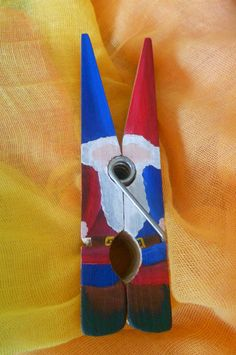 Waldorf Inspired Hand Painted Clothespin Gnomes (inspiration only, link broken)