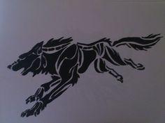 Lobo corriendo..