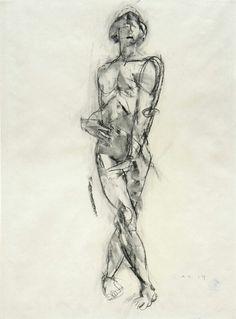 Anton Kolig Figure Drawing, Sketches, Drawings, Figure Drawings, Drawing, Portrait, Sketch Painting, Sketching, Resim