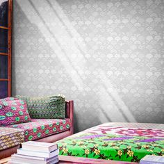 Designer Wallpaper Online Store for USA & Canada Feather Wallpaper, Art Deco Wallpaper, Retro Wallpaper, Wallpaper Online, Designer Wallpaper, Application Pattern, Art Deco Movement, Contemporary Wallpaper, Elle Decor