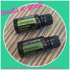 Happy essential oil diffuser blend. Lemongrass and rosemary.  https://www.facebook.com/OilsWithJamie