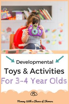 The best toys, games and activities to support the cognitive, social and physical development of preschoolers 4 Year Old Activities, Learning Activities, Learning Toys, Educational Activities, Physical Development, Baby Development, Educational Toys For Toddlers, Best Kids Toys, Developmental Toys