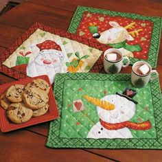 Holiday Placemats Made by Sharon Hart