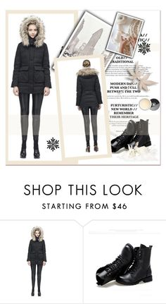 """""""Winter look"""" by janee-oss ❤ liked on Polyvore featuring Sunsteps"""
