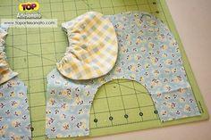 Como fazer elefante de tecido - Passo 2