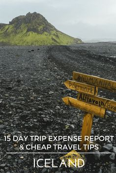 How to travel Iceland on a backpacker's budget? Check out our 2 week trip expense report and tips on how you can keep your expenses low in this expensive country. Camping, hiking and backpacking tips for Iceland. Summer travel to Iceland. Blue lagoon, Iceland;