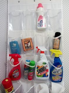 Laundry Management. Now I can all the cleaners I need in one spot - carpet, laundry, silver polish! by Moments of Delight...Anne Reeves