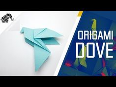How to make an Origami Dove for Easter / Peace Day (by Alice Gray) ...for all (33) - YouTube