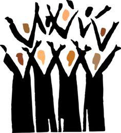 worship worship clip art and church banners rh pinterest co uk black church choir clipart children's church choir clipart