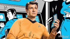 The Hollywood Reporter - Comic-Con: See Nathan Fillion as 'Star Trek's' Captain Kirk (Video)