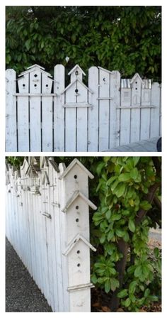 Read these 15 easy gardening tips and hacks so that you can have a garden that is lush with produce. Gardening is fun when you know how to do it right! Easy Garden, Garden Art, Garden Cottage, Backyard Fences, Backyard Landscaping, Garden Gates And Fencing, Fence Art, Garden Projects, Bird Houses