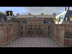 Reconstitution 3D: construction du château de Versailles jusqu'à la révolution française - YouTube - Pour faire connaître son histoire architecturale, Versailles s'est adjoint l'aide de Google. On peut désormais explorer les lieux au travers de ces reconstitutions 3D et comprendre son évolution grâce aux images de synthèse. Plus d'infos sur www.versailles3D.com