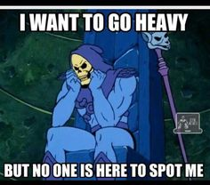 Esqueleto, He man Gym Memes, Workout Memes, Workouts, Esqueleto He Man, He Man Desenho, Skeletor Quotes, Gym Humour, Fitness Humor, Exercise Humor