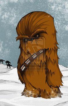 Chewbacca - Star Wars - by Christopher Uminga