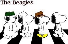 Snoopy and 3 of his brothers.